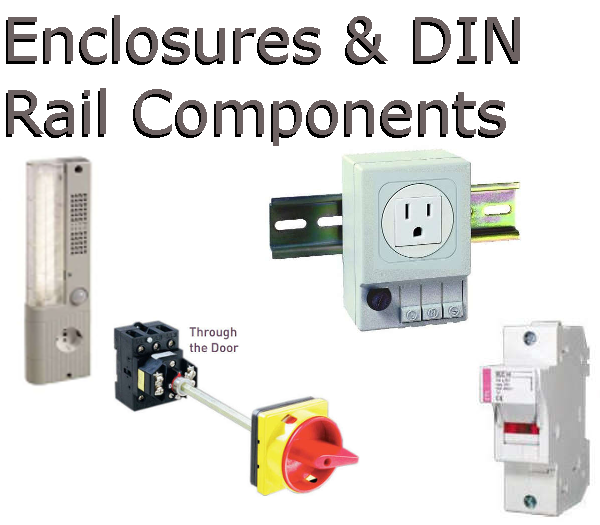 Enclosure Lights & DIN Rail Outlets